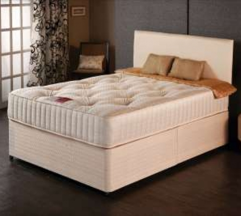 Tufted Ortho Bed